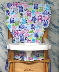 Light Wood Eddie Bauer High Chair by Jenny Lind Eddie Bauer High Chair Seat Cover Pad Replacement