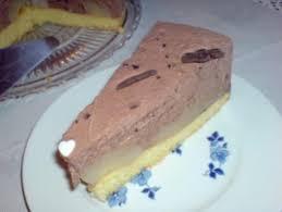 schoko sahne torte mit birnen