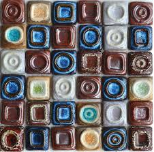 craft porcelain mosaic kitchen wall tile pcmt065 blue