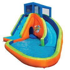 Amazon.com: Inflatable Water Slides: Toys & Games 25 Unique Slip N Slide Ideas On Pinterest In Giant Backyard Water Parks Splash Recycled Commerical Water Slides For Sale Fix My Slide Diy Backyard Outdoor Fniture Design And Ideas Residential Pool Pools Come Out When Youre Happy How To Turn Your Into A Diy Pad 7 Genius Hacks Sprinklers The Boy Swimming Pools Waterslides Walmartcom N But Combing Duct Tape Grommets Stakes 54 Best Images Summer Fun 11 Infographics Freeze