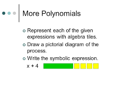 polynomials and algebra tiles ppt video online download