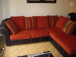 coussins canapé d angle avec 7 coussins
