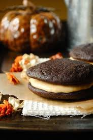 Pumpkin Whoopie Pies With Maple Spice Filling by Pumpkin Whoopie Pies With Maple Spice Filling Recipe Pumpkin