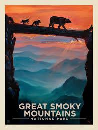 100 Mountain Design Group Great Smoky S National Park Bear CrossingKC