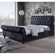 Wayfair Upholstered Bed by Best 25 Black Upholstered Bed Ideas On Pinterest White