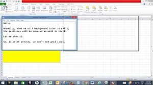 Preserve Grid Lines While Filling Color In Excel