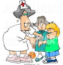 1024x1044 Job Clip Art Of A Grinning Female School Nurse Putting Bandage