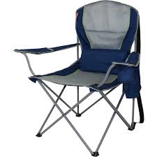 Coleman Oversized Padded Quad Chair Side Cooler by Coleman Weekender Quad Chair Bcf Australia