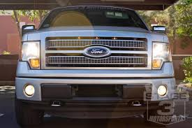 100 Ford Truck Grill 20132014 F150 Custom Auto Works Raptor Style LED Amber E Light