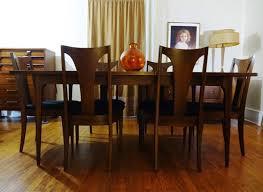 Broyhill Brasilia 9 Drawer Dresser by Mid Century Modern Broyhill Brasilia Sculpted Walnut Dining