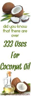 333 uses for coconut oil by hybrid rasta mama