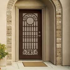 Unique Home Designs Security Doors Larson Titan X White Duratech ... Unique Home Designs 36 In X 80 White Surface Mount Outswing Arbor Black Recessed All La Entrada Door Design Metal Security Screen Doors Awesome Alinum Bust Of Gallery Decorating 96 Solana Cool And Opulent Installation 15 The Red Homesfeed Napa Vinyl Coronado Bronze