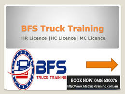 100 Truck Licence PPT First Choice For Course In Sydney PowerPoint