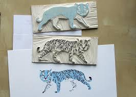 Andrea Lauren Printmaking Process 1 12