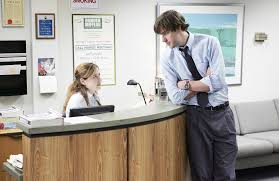 The fice s John Krasinski and Jenna Fischer Reunite Amazing