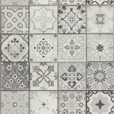 papier peint imitation carrelage cuisine papier peint carreaux vinyle sur intissé imitation carreaux de