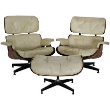 Pair Of Mid-Century Herman Miller Eames Lounge Chairs With Ottoman ... Mid Century Modern Lounge Chair Set 4 Eames Soft Pad High Herman Milo Baughman For James Inc Recliner In Original Fabric Arne Vodder France Sons Danish Teak Recling Chairs Midcentury Modern Fniture Ding Target Vintage Mid Century Danish Modern Recliner Lounge Chair Eames Mafia Building A Shaun Boyd Made This Miller White 670 671 Leather Ottoman Chair Png Sling Midcentury Selig Swivel