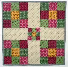 Full Version Nine Patch Doll Quilt