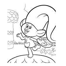 Coloriage Tsum Tsum Stitch Coloriage Trolls Poppy Et Branche