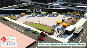 100 Truck Central Station Food Plaza Unveiling At May Leadership Saint