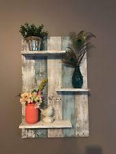 Rustic Primitive Wall Shelves