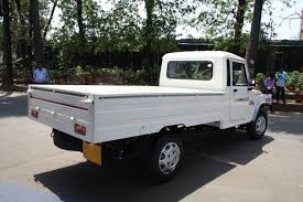 Mahindra Bolero Maxi Truck Plus White Rear Quarter Right