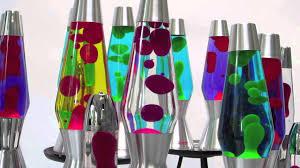 Bubbling Mathmos Lava Lamps