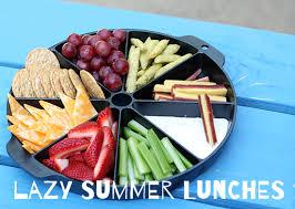 Lazy Summer Lunch Ideas