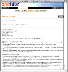 Step 3 Copy And Paste Your Resume Onto The Job Site Free Samples C For Examples