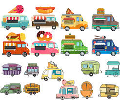 100 Trucks Cartoon Food Trucks Vector Free Download VectorPicFree Free Ai Eps