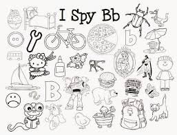 My Sons Love I Spy Games Books Jars You Name It Created These Beginning Letter Sound Coloring Pages For The Whole Alphabe