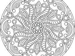 Easy Mandala Coloring Pages Printable Pretentious Design Ideas For Adults 10 Stunning