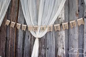 Rustic Wedding Head Table Backdrop