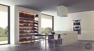 vin cuisine une cave à vin contemporaine qui s intègre parfaitement dans votre