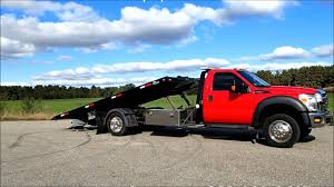 FORD F550 Super Duty With Vulcan Car Carrier Rollback Tow Truck For ...