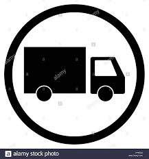 100 Icon Truck Lorry Delivery Icon Transportation Cargo Transport Icon