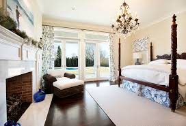 Pottery Barn Master Bedroom by Country Master Bedroom With Hardwood Floors By The Corcoran Group