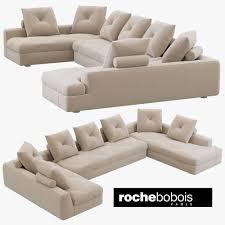 100 Roche Bois Furniture Bobois PREFACE Modular Sofa 3D Model