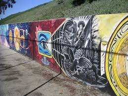 Chicano Park Murals Map by Handball Murals In Chicano Park