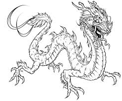 Cartoon Dragon Coloring Pages Adults