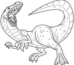 Free Coloring Book Dinosaur Pages Printable At Concept Desktop A Part Of 10 Digital Imagery