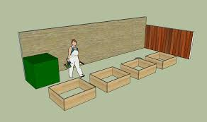 Sunset Strip Garden Plan With Raised Beds