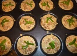 farandole de mini quiches sans pâte pour apéritif dinatoire