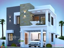 100 Modern House Design Photo 3 BHK Cute Modern House 1550 Sqft Kerala Home Design And