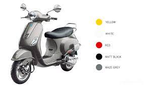 Price Of Vespa VXL 125 Scooter For 2017 In Karnataka Two Wheeler Includes Latest This Model With