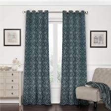 Living Room Curtains At Walmart by Amazon Com Eclipse 12427052084smb Patricia 52 Inch By 84 Inch