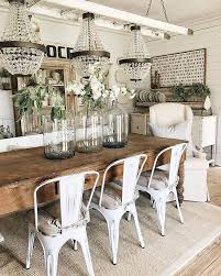 Rustic Dining Room Decorating Ideas by Best 25 Farmhouse Dining Rooms Ideas On Pinterest Dining Room
