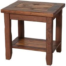 best 25 rustic end tables ideas on pinterest wood end tables