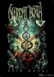100 Mundi Design Decrepit Birth Cd Cvr Axis Official Shirt Size Lrg New Tees