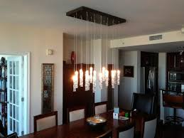 Contemporary Chandeliers For Dining Room Light Fixtures With Brown